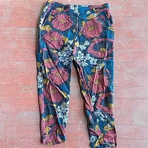 Loft flower print trousers